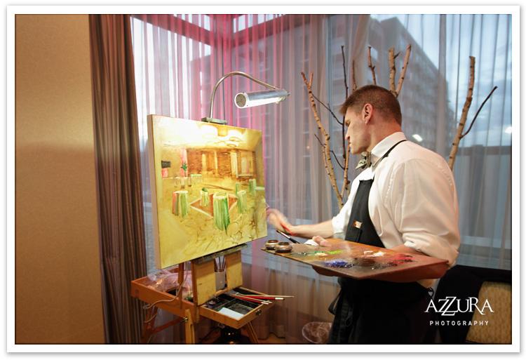 Sam Day Wedding Painter