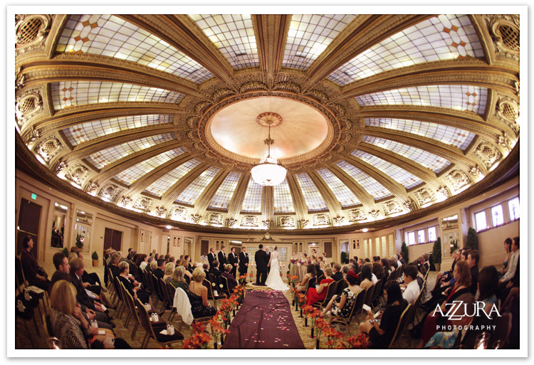 Seattle Arctic Club Wedding Ceremony