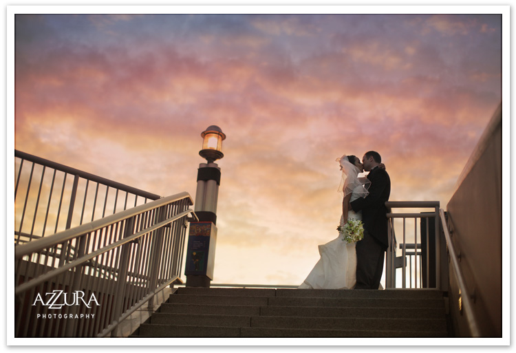 Bell Harbor Sunset Wedding
