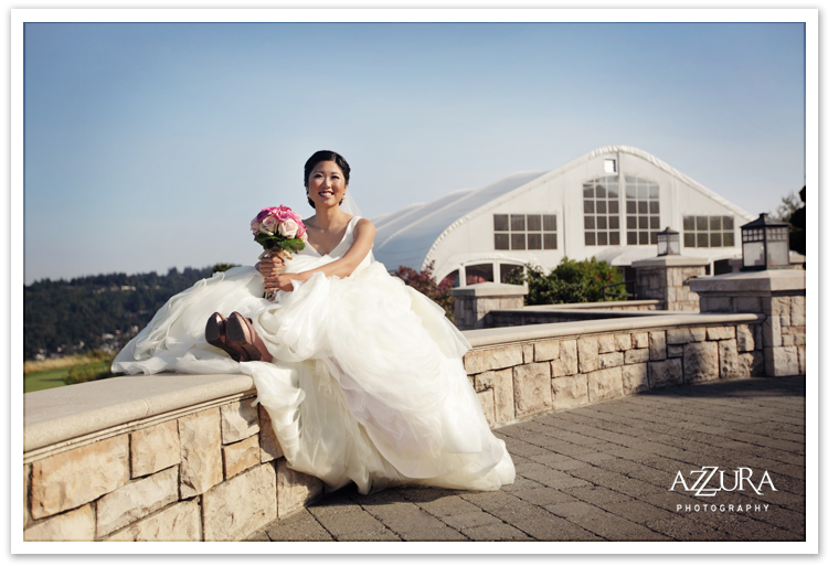 Bride at The Golf Club at Newcastle