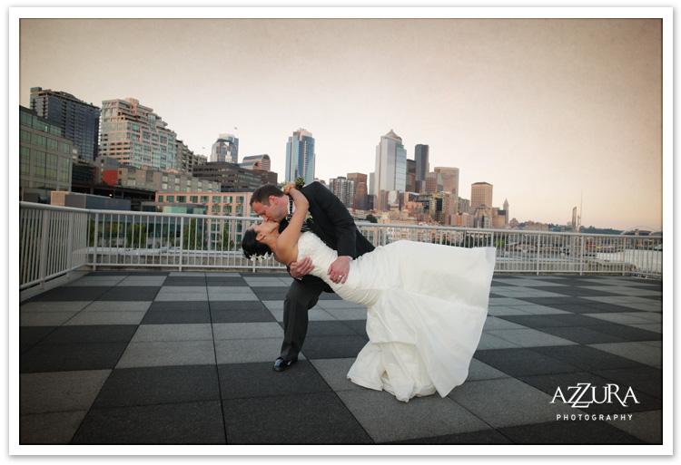 Bell Harbor Rooftop Wedding