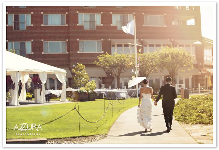 Woodmark Wedding on the Waterfront
