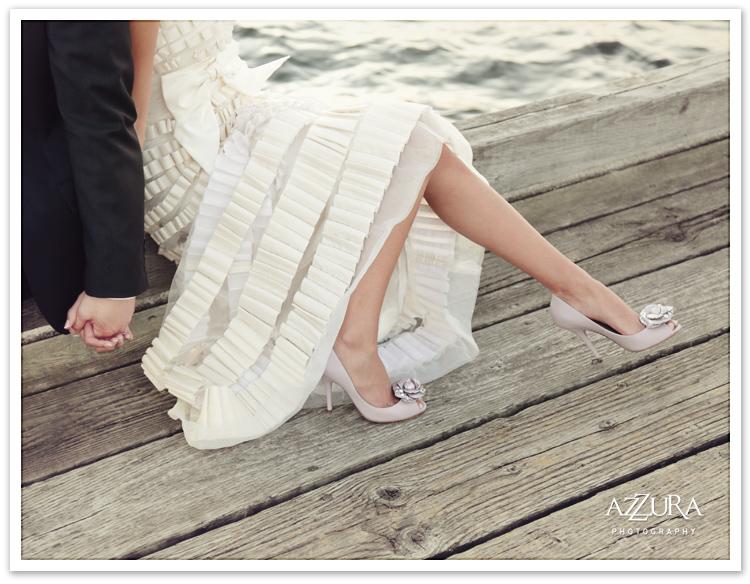 Eastside Wedding Details on the Pier