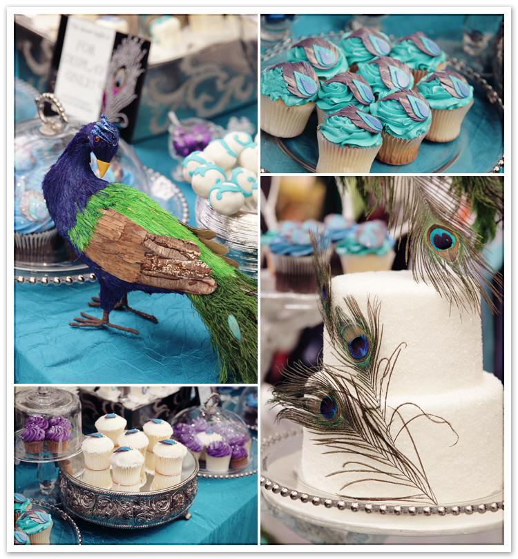 Celebrity Cake Studio Peacock Cakes