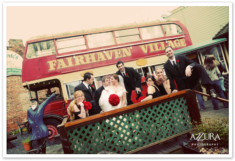 Fairhaven Village in Bellingham Wedding Party
