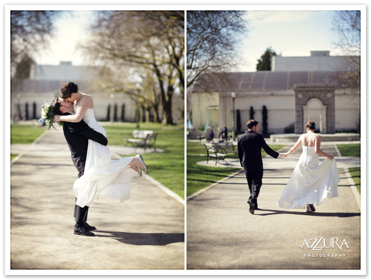 Green Lake Park Wedding Photography