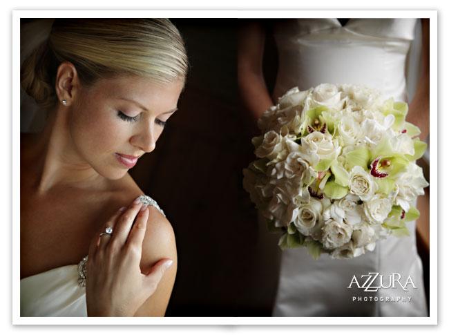 Edgewater hotel bride portrait