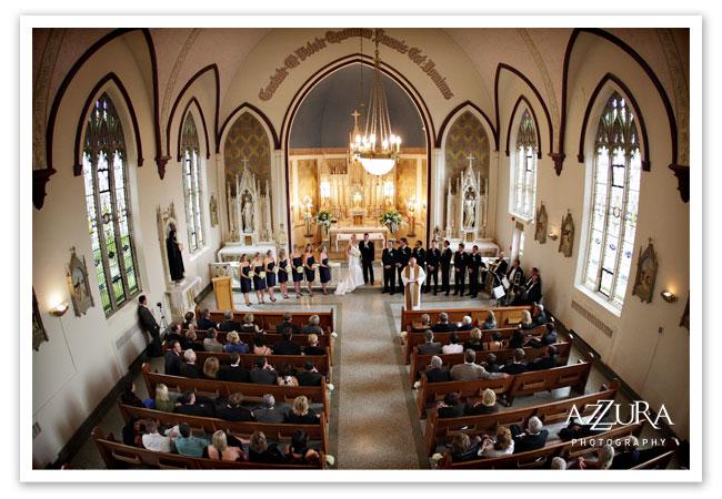 Seattle Wedding Ceremony At Villa Academy Chapel