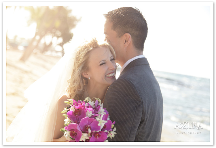 Mauna Lani Hotel Wedding by Azzura Photography
