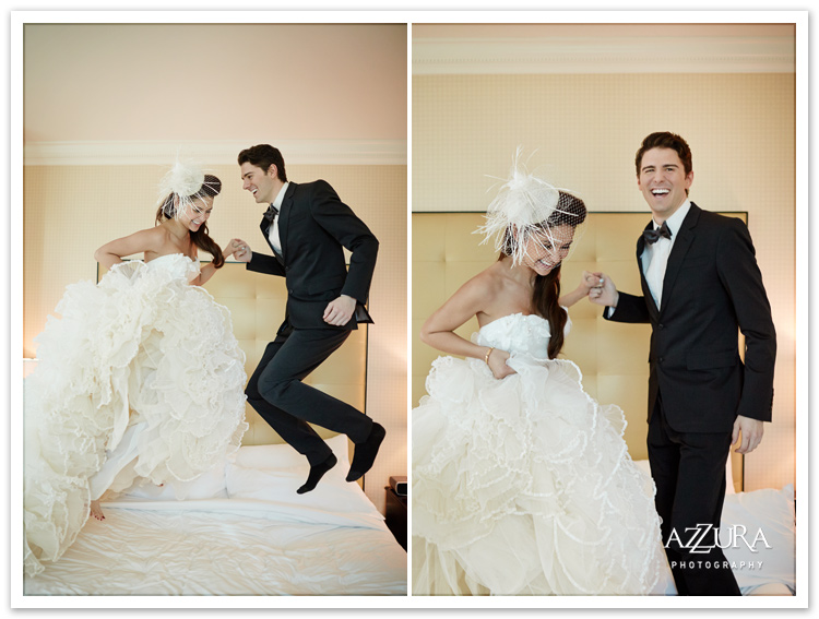 MGM Grand Las Vegas Wedding by Azzura Photography
