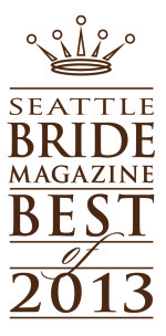 Azzura Photography wins Seattle Bride Best of 2013