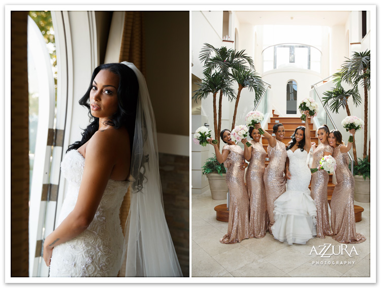 Tori Crawford Wedding with Bridesmaids