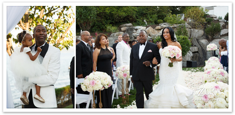 Tori and Jamal Crawford Wedding Ceremony