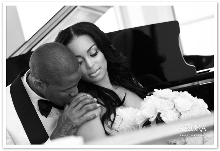Tori and Jamal Crawford Wedding