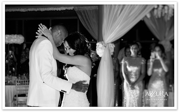 Tori and Jamal Crawford Wedding at Benaroya Hall