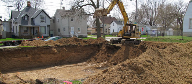 Wisconsin grading and excavation by Jeff Wendt
