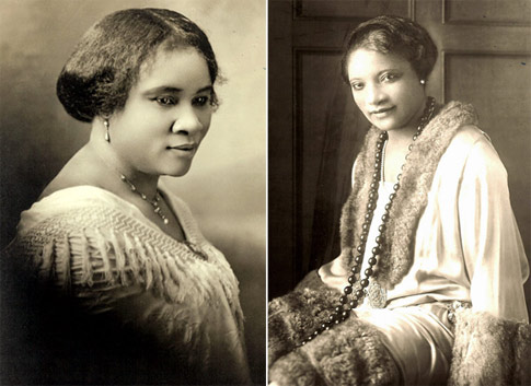 madam cj walker daughter name