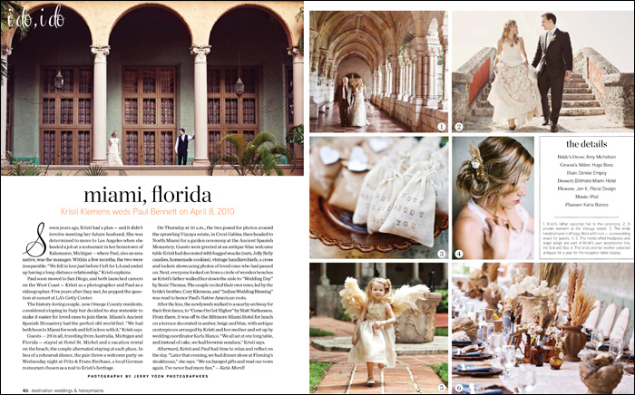 Miami Florida Destination Wedding Kristi Paul