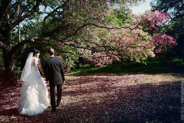 Los angeles arboretum wedding