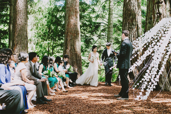 Sonoma park wedding