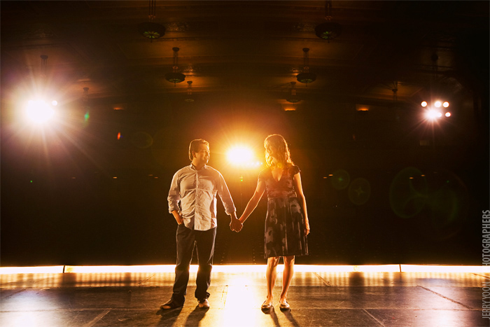 engagement photography alameda theatre lighting