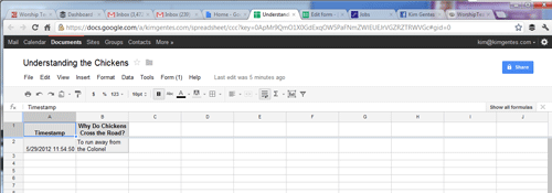 How To Create a Free Web Poll Using Google Docs (Kim ...