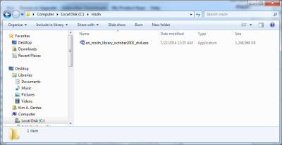 Finding, Downloading, and Installing MSDN Library for VB6 on