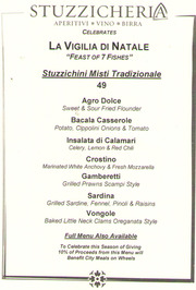 feast of the seven fishes at stuzzicheria home new