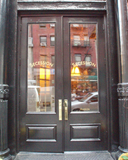 Secession opened this week. It\u0027s the successor to the late lamented Danube David Bouley\u0027s tribute to Austrian cuisine that closed two months ago. & Home - New York Journal