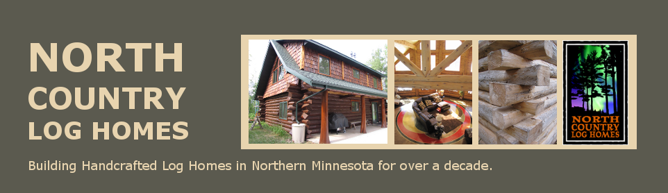 Minnesota Handcrafted Log Home Builders