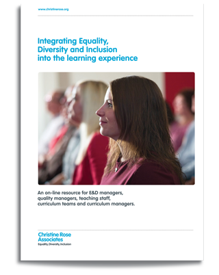 Integrating Equality, Diversity and Inclusion into the learning experience