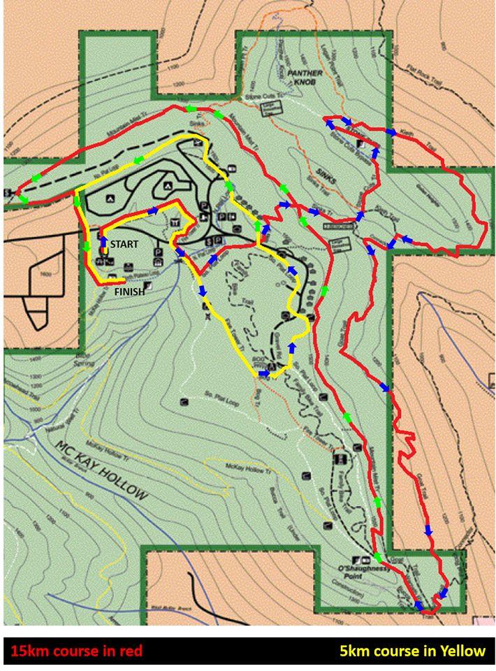 XTERRA Monte Sano State Park 15K/5K Trail Race (Huntsville)