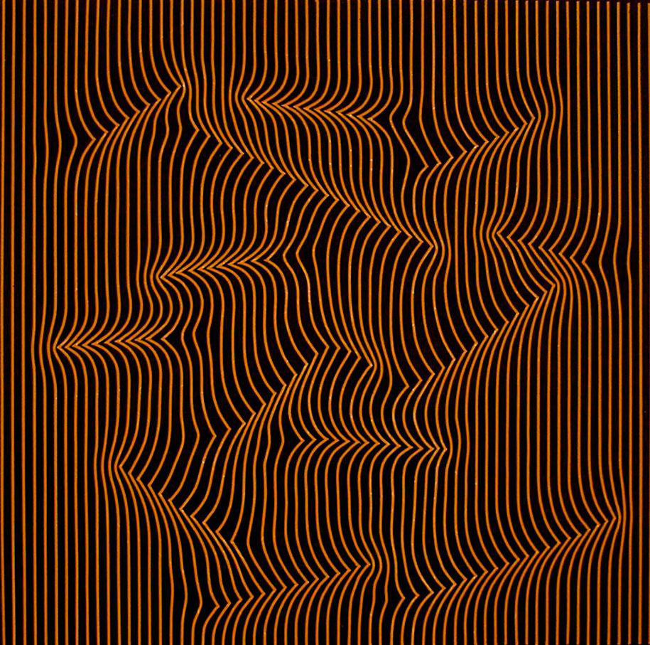 Op art uses color to create - Mieczkowski S Work Like Stella S Later Paintings Uses The Study Of Color To Create The Illusion Of Space