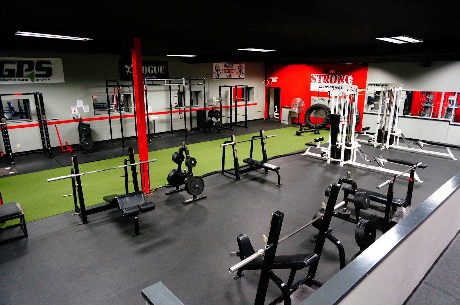 Warehouse gym business plan for 2000 sq ft gym layout