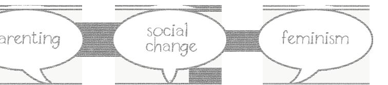 parenting, social change, feminism