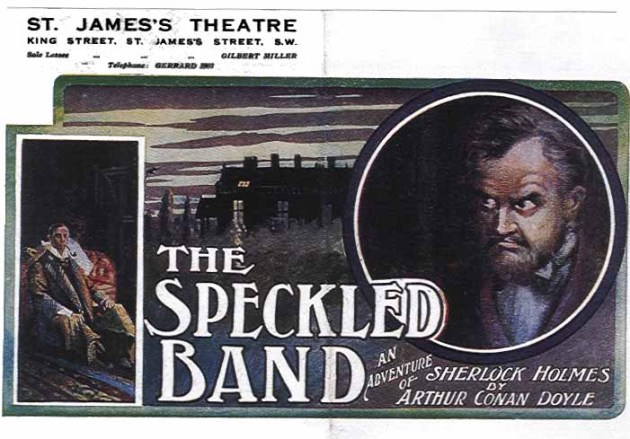 a comparison of the landlady by roald dahl and speckled band by sir arthur conan doyle Comparison between the speckled band and lamb to the roald dahl was famous for writing children's sir arthur conan doyle wrote the speckled band and it was.