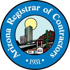 AZ Registrar of Contractors Logo