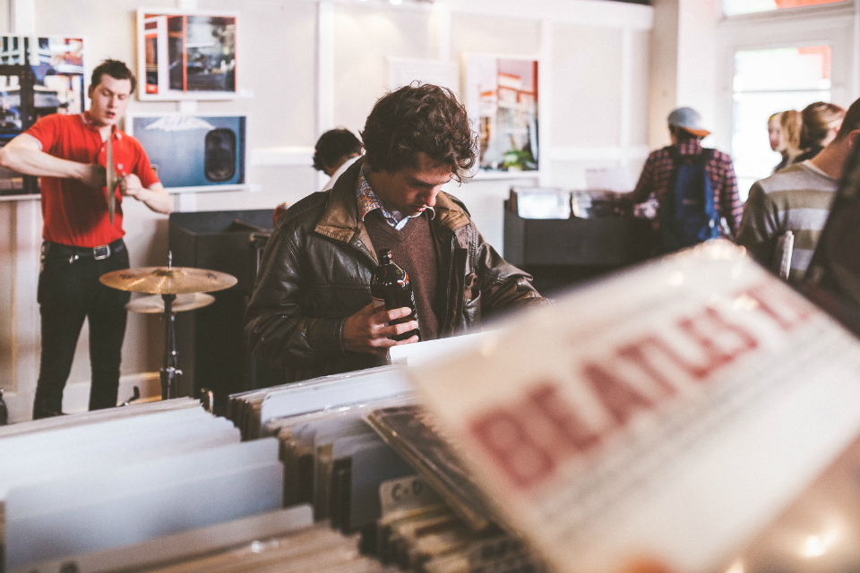 Millennials Are Buying Vinyl, But Not From Record Stores