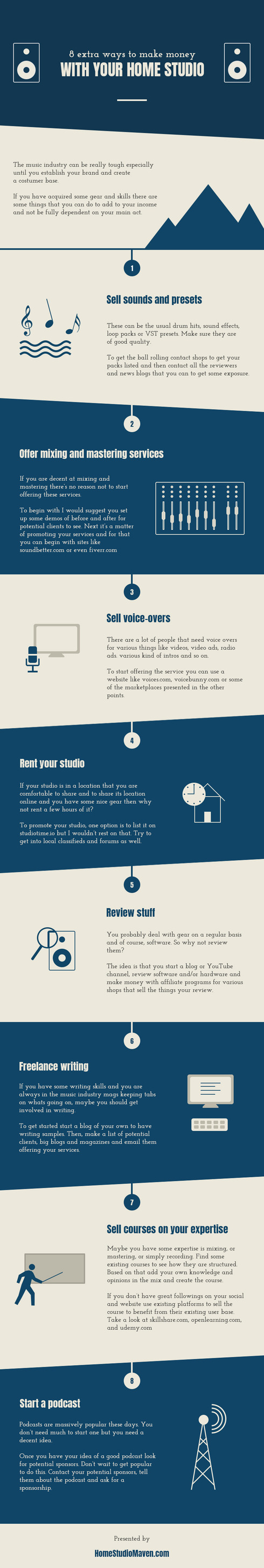 Got Gear Or Skills? Here Are 8 Other Ways To Make Money With Them [Infographic]