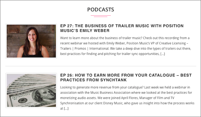 7 Podcasts To Take You Behind The Business Of Sync & Music