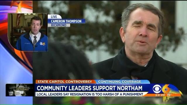 Black Leaders Call for Forgiveness, Second Chance for Virginia Gov. Northam