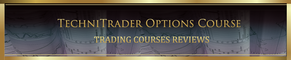 TechniTrader Options Trading Course reviews banner