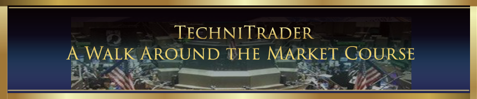 A Walk Around the Market Course header - TechniTrader