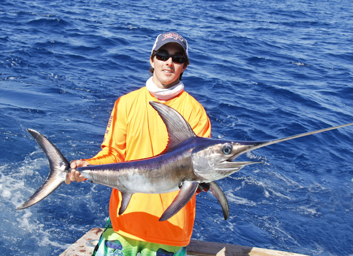 11 4 11 hot swordfish bite 4 daytime broadbills for the for Bud and mary s fishing report