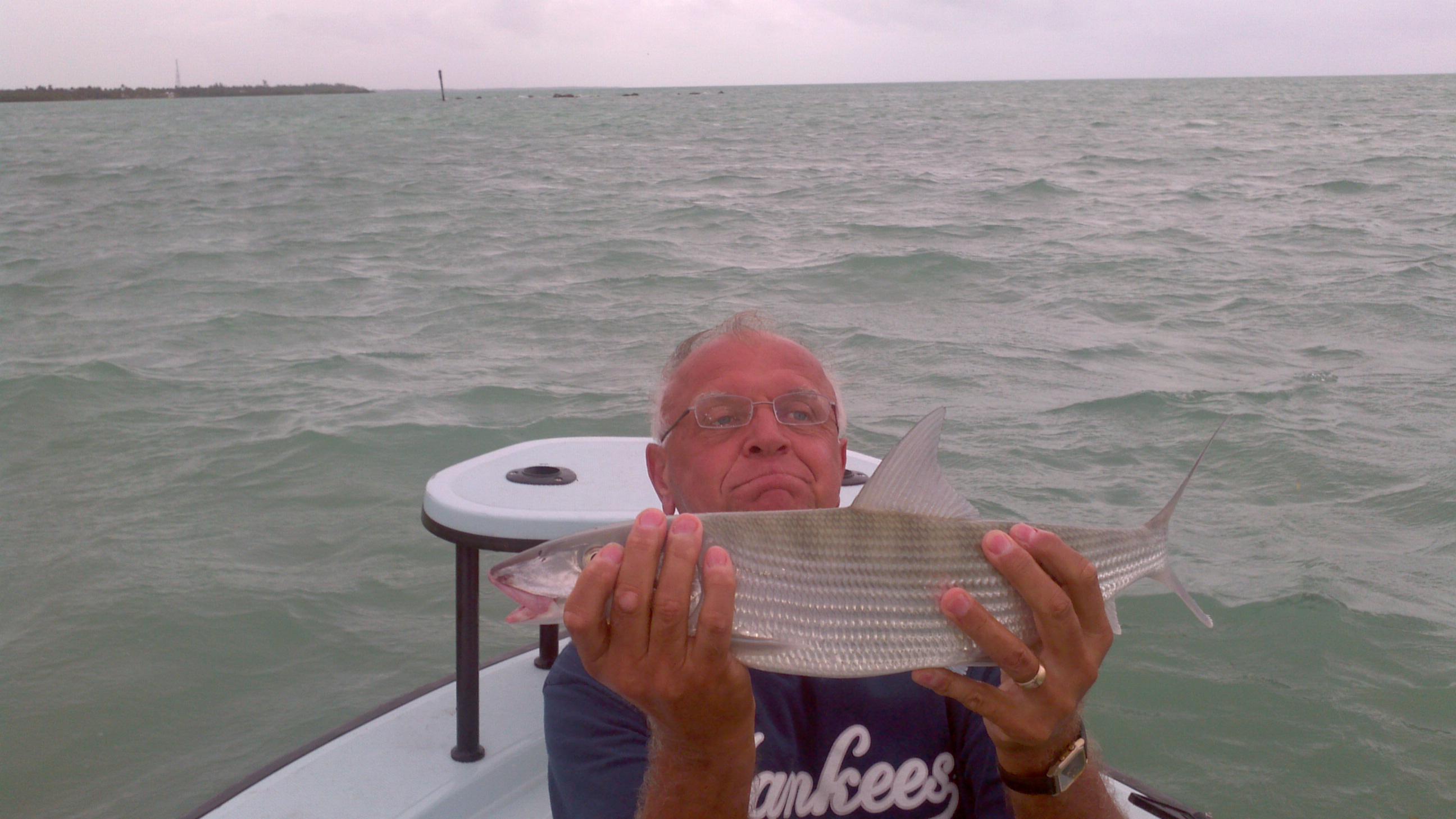 10 25 12 islamorada bonefish report islamorada fishing for Florida keys fishing report