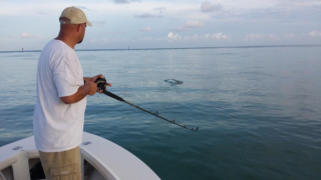 6 28 13 end of june islamorada tarpon fishing report for Florida keys fishing report
