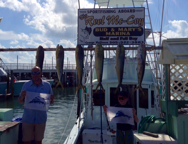 10 31 13 end of october deep sea fishing report for Bud n mary s fishing report