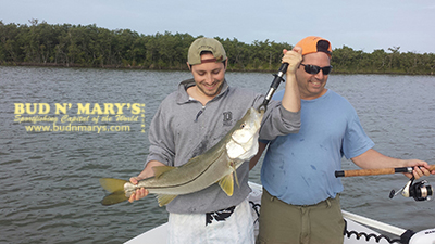 1 12 14 mid january backcountry fishing report for Bud n mary s fishing report