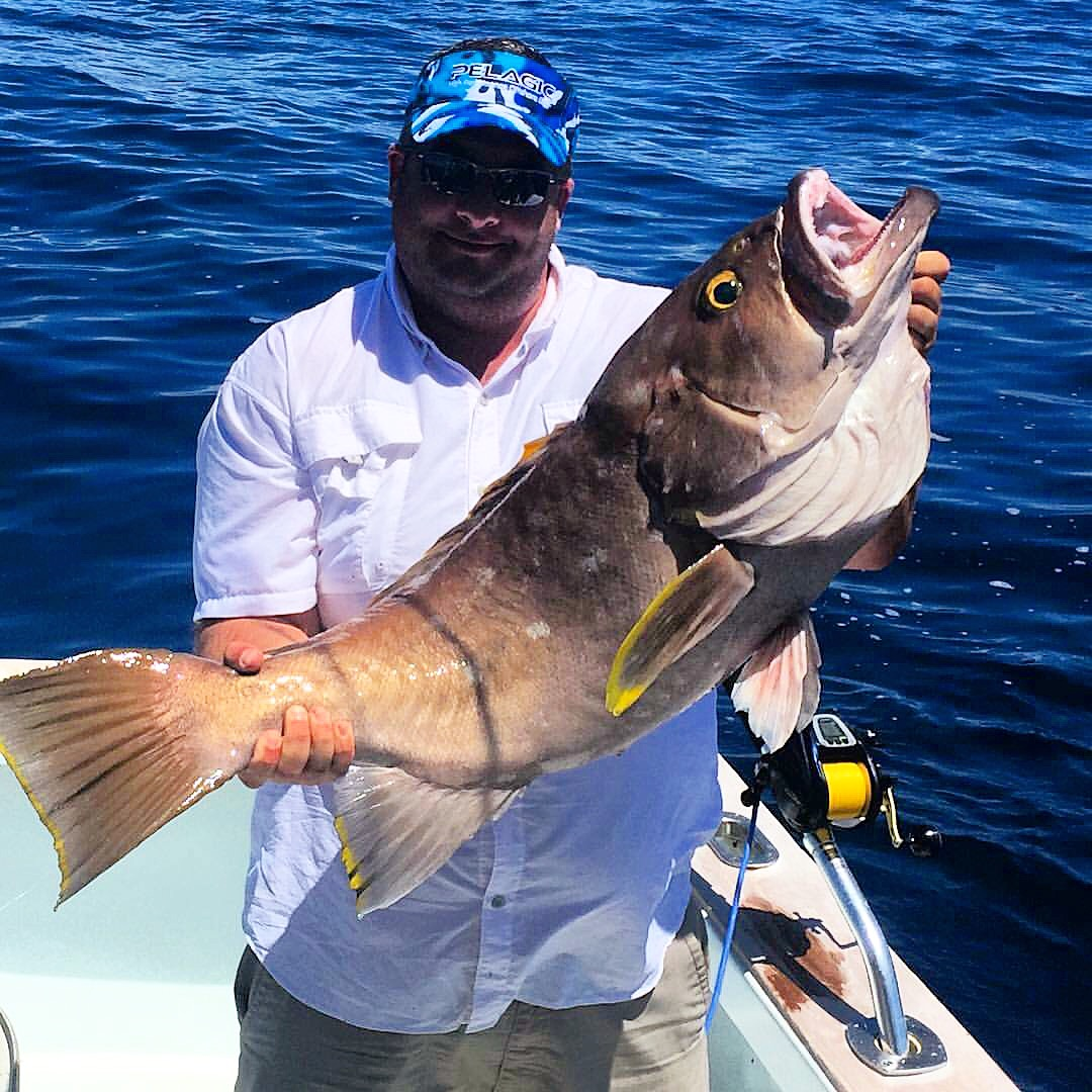 6 1 16 offshore fishing in islamorada florida keys for Bud and mary s fishing report