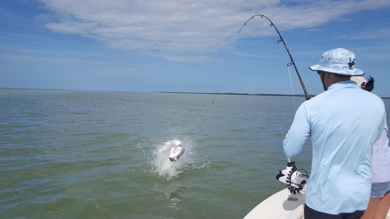 10 4 16 october islamorada backcountry fishing report for Florida keys fishing guides